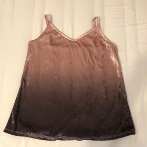 Maurices Pink Ombre Tank Top